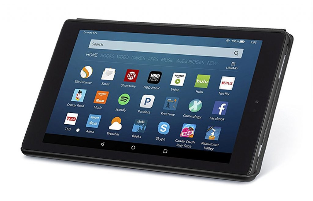 Amazon Fire HD 8 tablet - the best tablets reviews and buying guide 2019