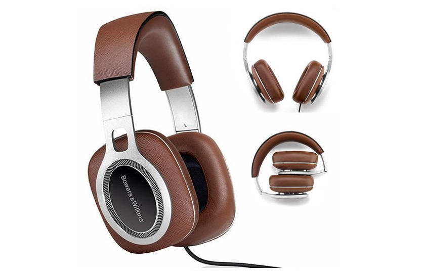 Bowers & Wilkins P9 Premium Headphones, Brown