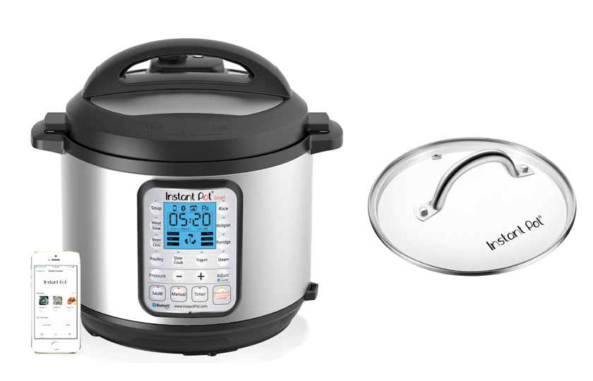 Instant Pot IP Smart Multifunctional Stainless Steel Pressure Cooker with Bluetooth enabled