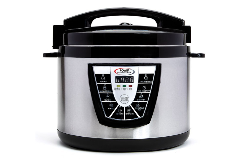 Power Pressure Cooker XL digital stainless steel cooker and canner