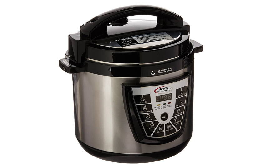 Pressure Cooker XL silver stainless steel quart 6-88