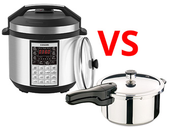 difference between Electric Pressure Cooker and Stove Cookers