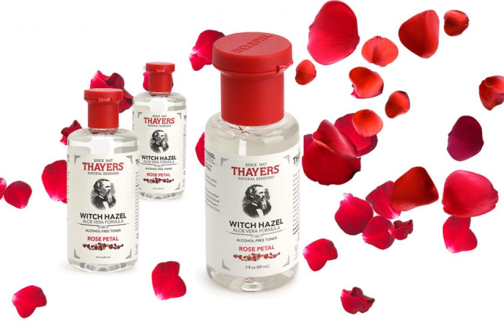 Thayers Alcohol-free Rose PetalToner