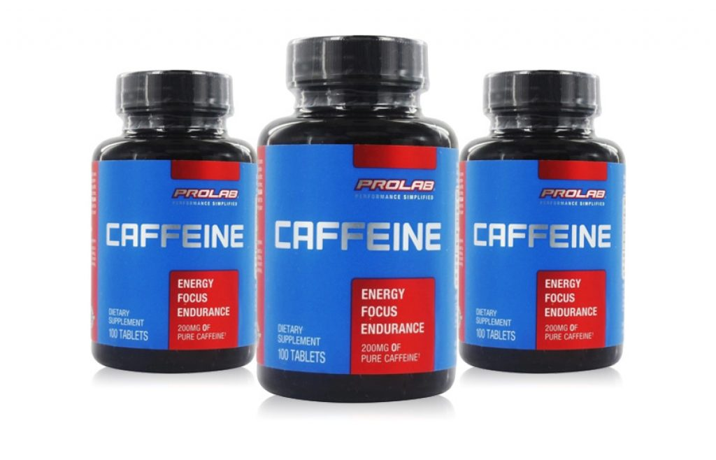Caffeine weight loss product