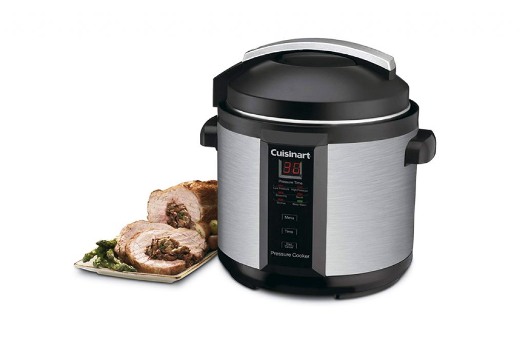 Cuisinart Pressure Cooker CPC 1000w 6-Quart