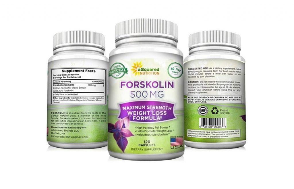 Forskolin 500mg weight loss Supplement