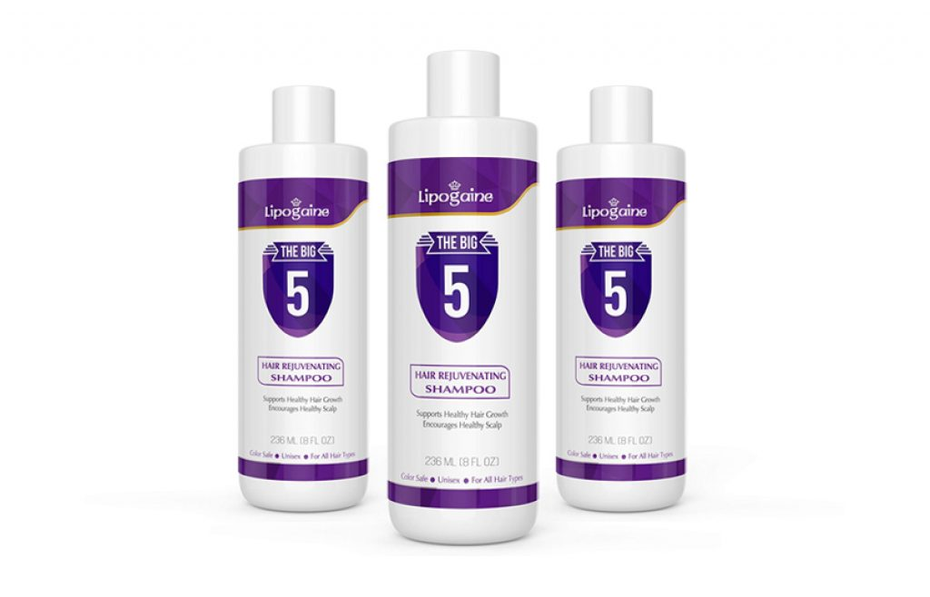 Lipogaine Hair Loss / Hair Growth Stimulating Shampoo - Hair Loss Shampoo