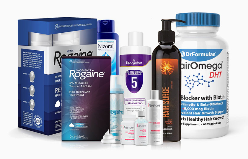 The Best Hair Loss Products Review and Buying Guide