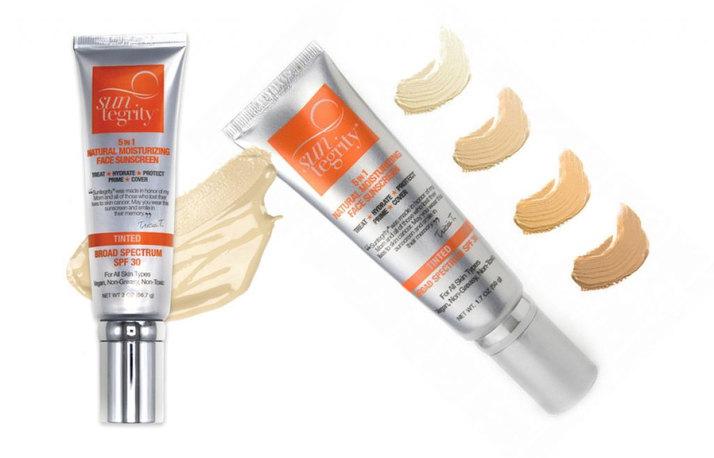 The Suntegrity Natural Moisturizing Face Sunscreen - the best skin care products