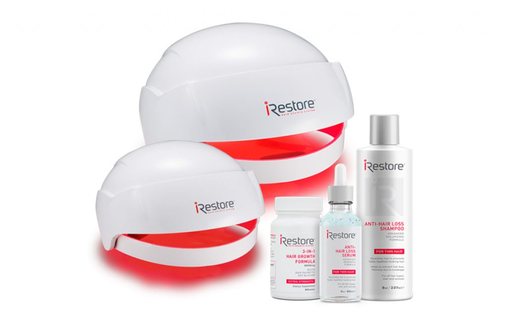 iRestore Laser Hair Growth System - Hair Loss Treatments, Hair Regrowth for Men and Women