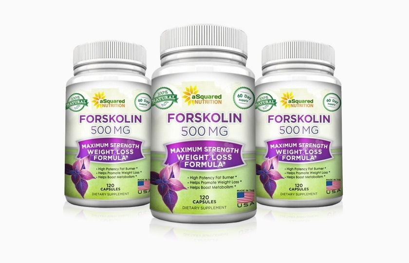 Forskolin 500mg weight loss Supplement Review