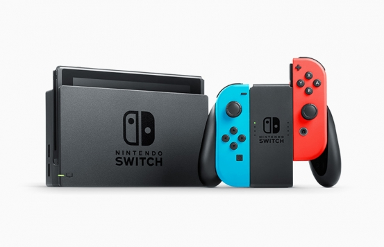 Nintendo Switch Console – Neon Blue and Red Joy-Con